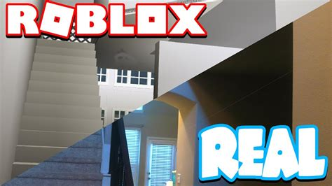 REMAKING MY REAL HOUSE IN ROBLOX!! - YouTube