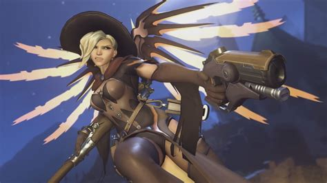 More Mercy changes being tested on the Overwatch PTR