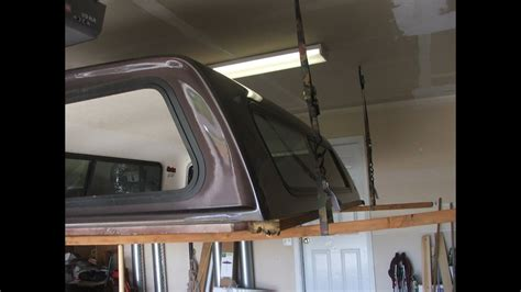Remove Truck Topper by YOURSELF!!! NO HELP! Simple pickup
