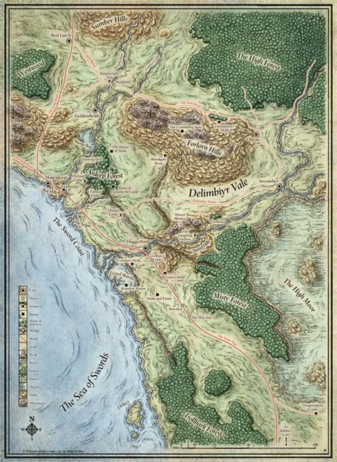 Mike Schley   Scourge of the Sword Coast Maps