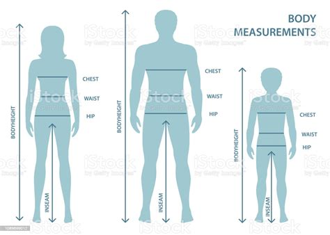 Silhouttes Of Man Women And Boy In Full Length With