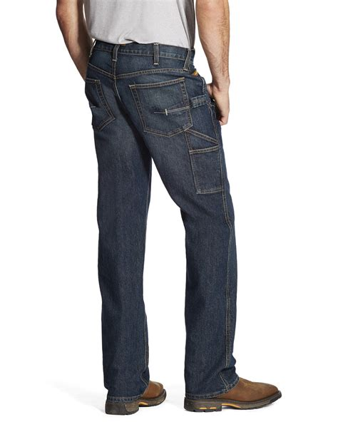 Ariat Men's M4 Workhorse Relaxed Fit Carpenter Jeans