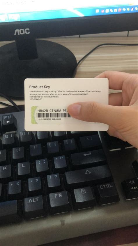 Key Card Office Home And Business 2019 Product Key For