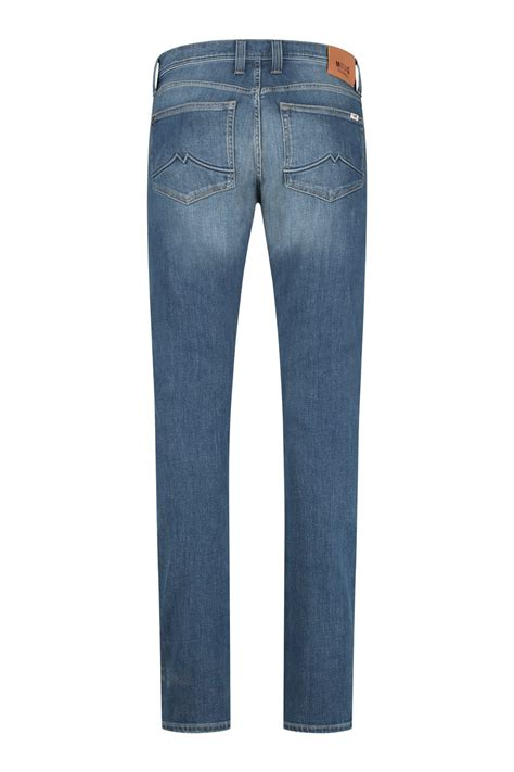 Mustang Jeans Oregon Tapered - Blue Used lengte 38 & 40