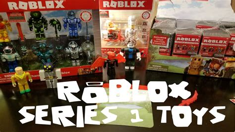 ROBLOX Series 1 Toys - Blind Box Mystery Toy Opening