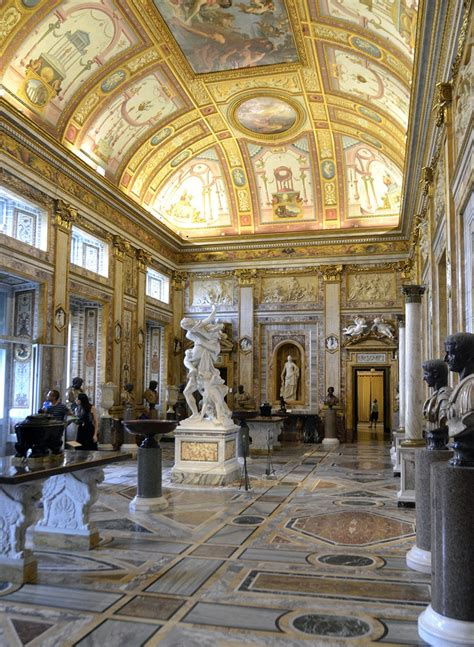 A Brief History Of The Galleria Borghese
