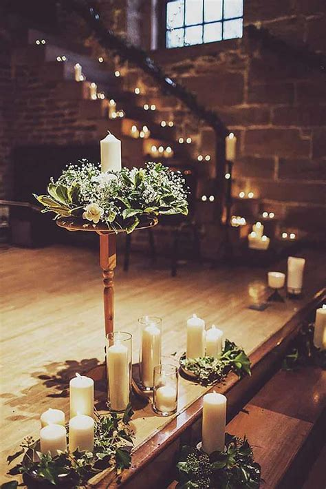 Gorgeous Ways to Use Candles at Your Winter Wedding