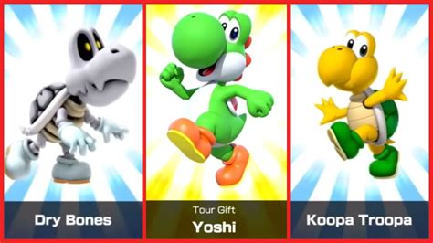 Mario Kart Tour Characters   All drivers - GameRevolution